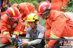 分秒必争!福建森林消防开展河中孤岛救援演练