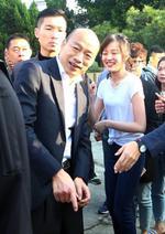 2020台湾地区两项选举开始投票韩国瑜蔡英文等亮相