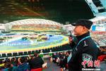 武汉警方全员参战力保军运会开幕式平安有序