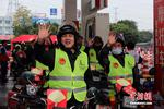 """中国石化""""情暖驿站""""公益活动再出发11000名摩骑免费加油"""